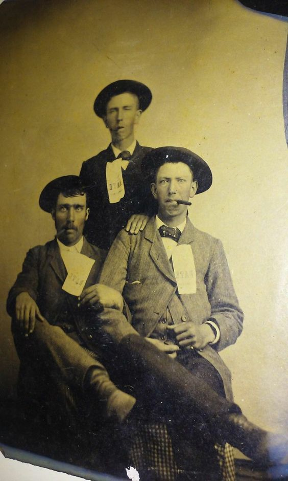 Rare Billy The Kid Dirty Dave Rudabaugh Regulators Tintype