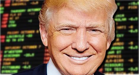 betting trump