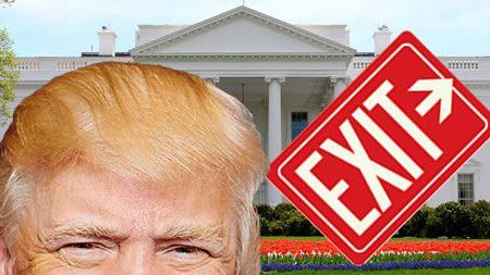 Trump Exit Date