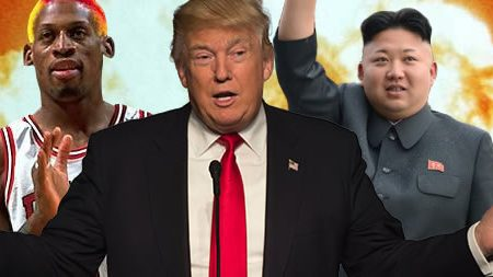 trump kim jung un and rodman